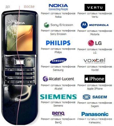 Ремонт мобильных телефонов в Армавире
